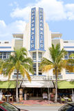 Breakwater Hotel, South Beach Stock Photography