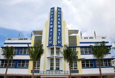 Breakwater hotel South Beach Miami Royalty Free Stock Images