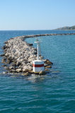 Breakwater light Stock Photography