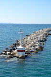Breakwater light Stock Photos