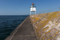 Breakwater Lighthouse Stock Photography