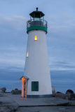 Breakwater Lighthouse, Santa Cruz, California Stock Image