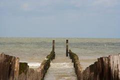 Breakwater Royalty Free Stock Photo
