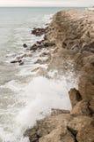 Breakwater port protector Stock Photography