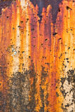 Breakwater Rust Stains Stock Images