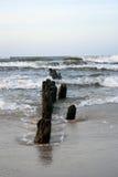 Breakwater sea Royalty Free Stock Photo