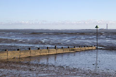 Breakwater at Southend-on-Sea, Essex, England Stock Photography