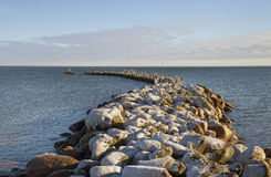Breakwater. Stock Photography