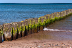 Breakwaters Stock Image