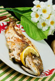 Bream baked Royalty Free Stock Image