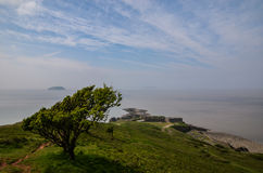 Brean Down, Somerset Stock Photos
