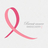 Breast cancer awareness background. Stock Photo