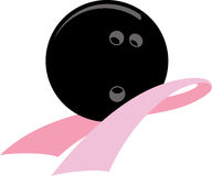 Breast Cancer Awareness Bowling Stock Images