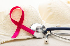 Breast cancer awareness concept. Royalty Free Stock Photos