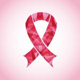 Breast cancer awareness design Royalty Free Stock Photo