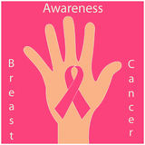 Breast cancer awareness Royalty Free Stock Photography
