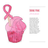 Breast Cancer Awareness Month Background Stock Photos