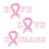 Breast Cancer Awareness Month Background Stock Photography