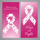 Breast Cancer Awareness month Stock Image