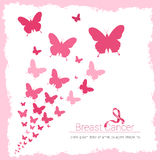 Breast Cancer Awareness Pink Banner Royalty Free Stock Photography