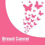 Breast Cancer Awareness Pink Banner Stock Photography