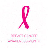 Breast cancer awareness pink ribbon background,  illustration. Breast cancer awareness pink ribbon background Royalty Free Stock Photos