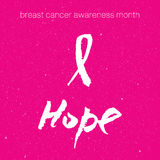Breast cancer awareness pink ribbon background,  illustration. Breast cancer awareness pink ribbon background Stock Photo