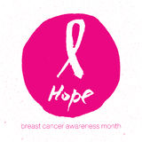 Breast cancer awareness pink ribbon background,  illustration. Breast cancer awareness pink ribbon background Royalty Free Stock Image