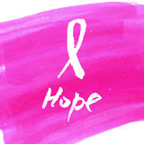 Breast cancer awareness pink ribbon background,  illustration. Breast cancer awareness pink ribbon background Royalty Free Stock Photo