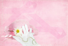 Breast cancer awareness ribbon Royalty Free Stock Photos