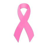 Breast Cancer Awareness Ribbon Stock Image