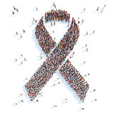 Breast Cancer Awareness Ribbon. Stock Photos