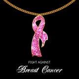 Breast Cancer Awareness Ribbon Stock Photos