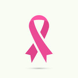 Breast Cancer Awareness Ribbon Stock Photos