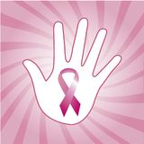Breast cancer awareness ribbons Royalty Free Stock Image