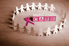 Breast cancer care Stock Photography