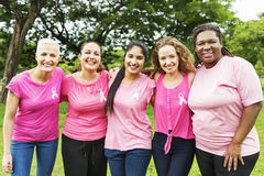 Breast Cancer Care Female Support Charity Concept Stock Image
