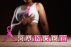 Breast Cancer cause concept Stock Photos