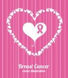 Breast cancer design Stock Photos