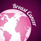 Breast cancer design royalty free illustration