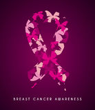 Breast cancer design Stock Photos