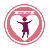 Breast cancer. Design, vector illustration eps10 graphic Stock Photo