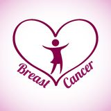 Breast cancer design. Vector illustration eps10 graphic Stock Photo