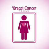 Breast cancer design. Vector illustration eps10 graphic Stock Photos