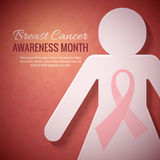 Breast Cancer October Awareness Month Campaign Background Stock Images
