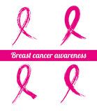 Breast cancer. Over white  background vector illustration Stock Images