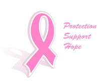 breast cancer pink ribbon Stock Photos