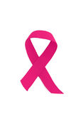 Breast cancer ribbon Stock Photo