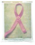 Breast Cancer Ribbon (bra strap) royalty free stock photography