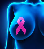 Breast Cancer Ribbon Symbol Royalty Free Stock Image